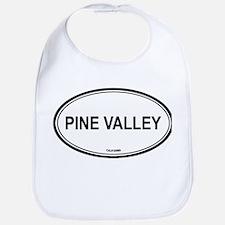 Pine Valley oval Bib