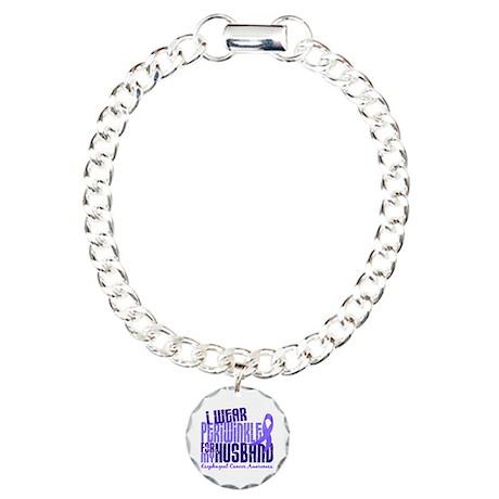 I Wear Periwinkle 6.4 Esophageal Cancer Charm Brac