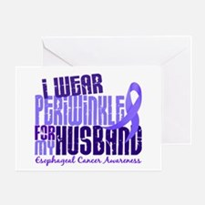 I Wear Periwinkle 6.4 Esophageal Cancer Greeting C