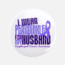 "I Wear Periwinkle 6.4 Esophageal Cancer 3.5"" Butto"