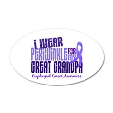 I Wear Periwinkle 6.4 Esophageal Cancer Wall Decal