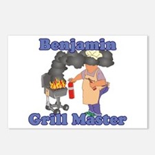 Grill Master Benjamin Postcards (Package of 8)