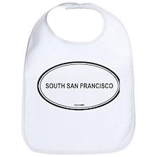 South San Francisco oval Bib