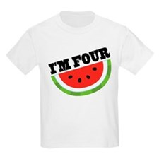 4th Birthday Watermelon T-Shirt