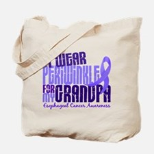 I Wear Periwinkle 6.4 Esophageal Cancer Tote Bag