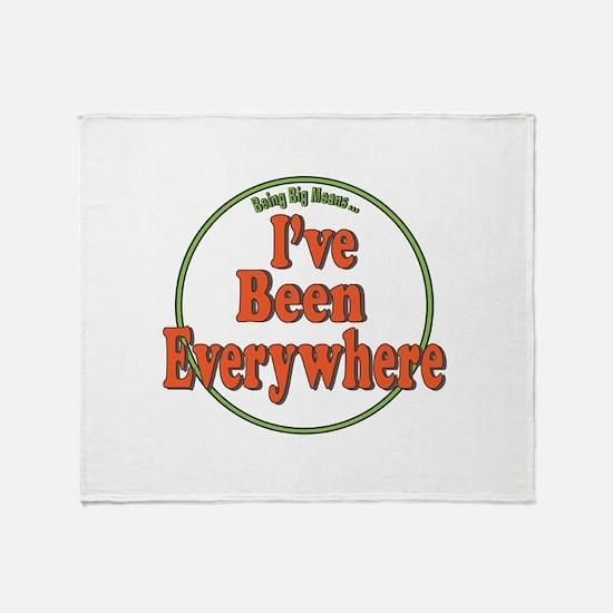 Been Everywhere Throw Blanket
