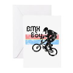 1980s BMX Boy Distressed Greeting Cards (Pk of 10)