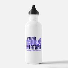 I Wear Periwinkle 6.4 Esophageal Cancer Water Bottle
