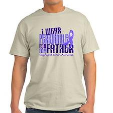 I Wear Periwinkle 6.4 Esophageal Cancer T-Shirt