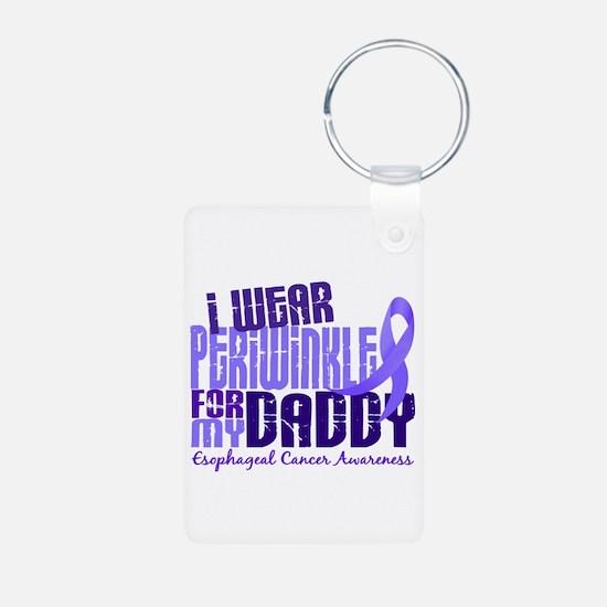 I Wear Periwinkle 6.4 Esophageal Cancer Keychains