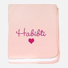 Unique F baby blanket
