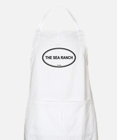 The Sea Ranch oval BBQ Apron