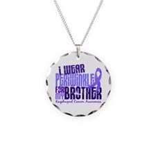 I Wear Periwinkle 6.4 Esophageal Cancer Necklace