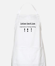 INTERJECTION BBQ Apron