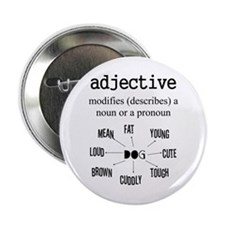 "Adjective 2.25"" Button"