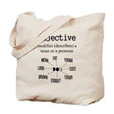Adjective Tote Bag