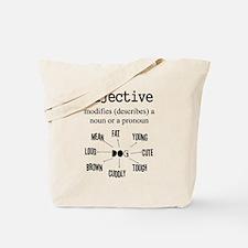 Adjective Tote Bag