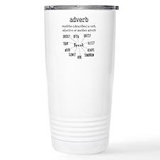 Adverb Travel Mug