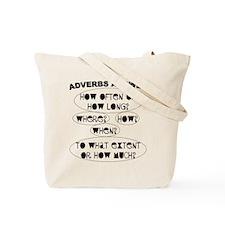 Adverb Tote Bag