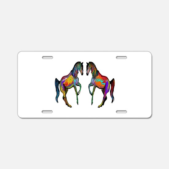 WILD Aluminum License Plate