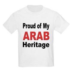 Proud Arab Heritage Kids T-Shirt
