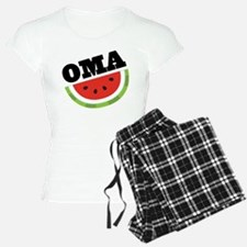 Oma Gift Watermelon Pajamas