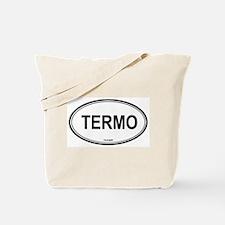 Termo oval Tote Bag