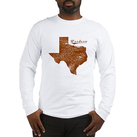 Woodrow, Texas (Search Any City!) Long Sleeve T-Sh