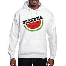 Grandma Gift Watermelon Hoodie