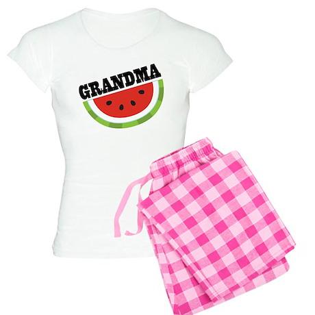 Grandma Gift Watermelon Women's Light Pajamas