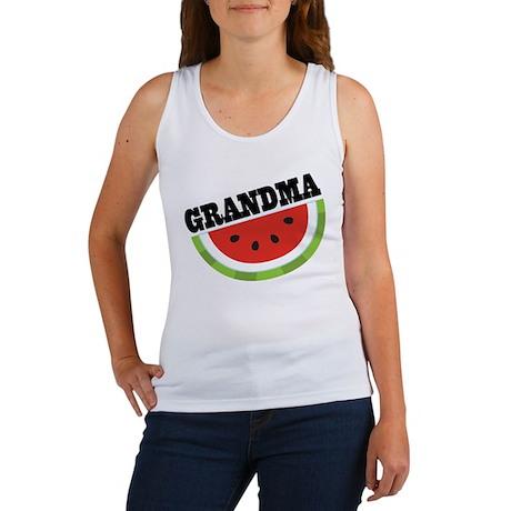 Grandma Gift Watermelon Women's Tank Top