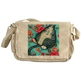 Cat messenger bag Messenger Bags & Laptop Bags