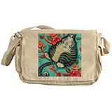 Cat messenger bag Messenger Bags & Laptop Bags