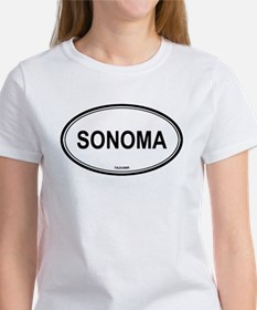 Sonoma oval Women's T-Shirt