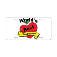 Cool Administrative assistant Aluminum License Plate