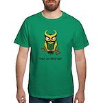 Owl of Mischief Dark T-Shirt