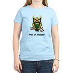 Owl of Mischief Women's Light T-Shirt