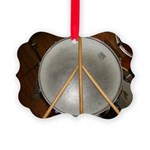 DRUM PEACE™ Picture Ornament