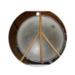 DRUM PEACE™ Ornament (Round)