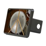 DRUM PEACE™ Rectangular Hitch Cover