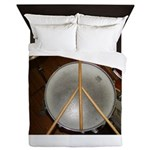 DRUM PEACE™ Queen Duvet