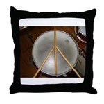 DRUM PEACE™ Throw Pillow