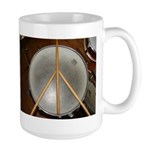 DRUM PEACE™ Large Mug