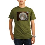 DRUM PEACE™ Organic Men's T-Shirt (dark)