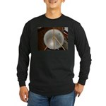 DRUM PEACE™ Long Sleeve Dark T-Shirt