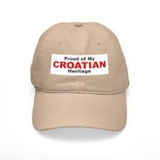 Proud Croatian Heritage Baseball Cap