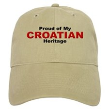 Proud Croatian Heritage Cap