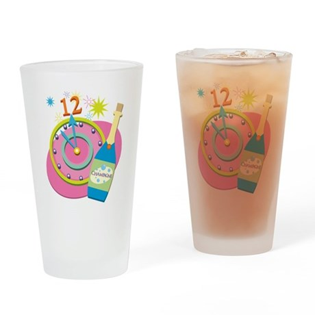 New Year Party Drinking Glass