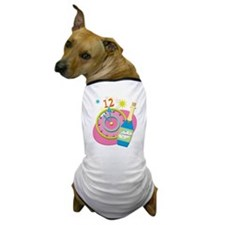 New Year Party Dog T-Shirt