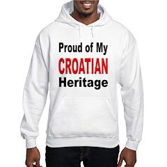 Proud Croatian Heritage Hoodie